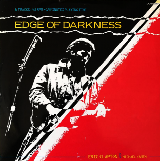 "Eric Clapton With Michael Kamen - Edge Of Darkness (12"") (EX-/VG-)"